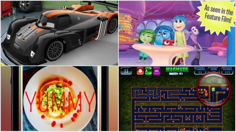 Cars 2, Brave, Inside Out, Ansel, Werds, MagMaze, And More App Sales